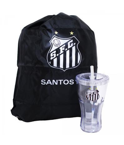 Copo C  Canudo e Mochila - Santos FC - Times de futebol - Copos - Magazine  Luiza 7ce521b8bdddf