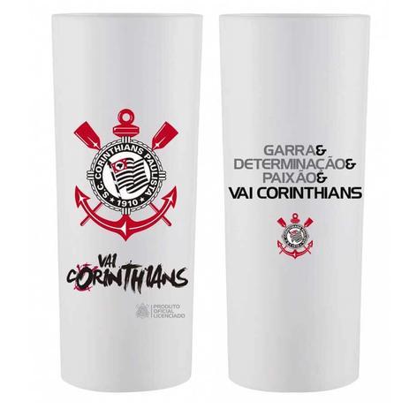 Copo Long Drink Vai Corinthians 350 ml Bezavel - Artigos para Festa ... 6fbdca549d0aa