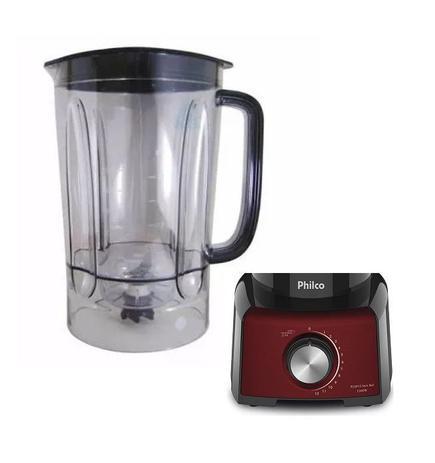 Imagem de Copo original  para  Liquidificador Philco PLQ912P Inox Red 1200W Cor Preto