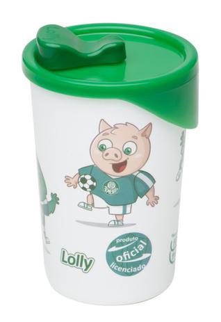 Imagem de Copo Palmeiras Plástico Com Tampa Lolly 350ml