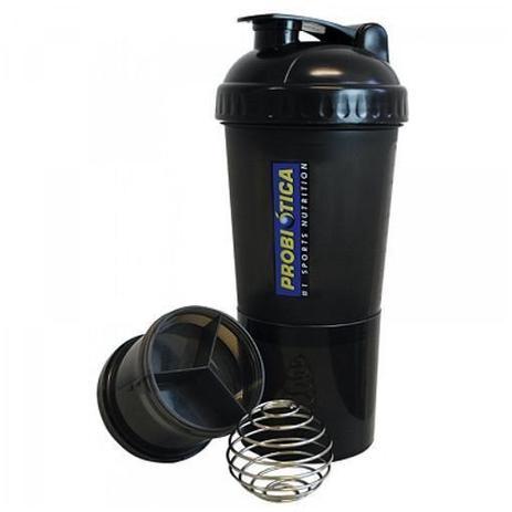 eea6bb68a9 Coqueteleira Shaker c  Divisória - 600ml - Probiótica - Coqueteleira ...