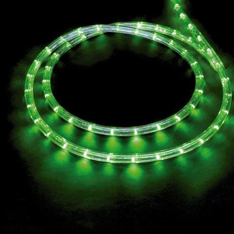 Menor preço em Corda Luminosa LED 13mm 127V 2 Fios 44m Taschibra Verde