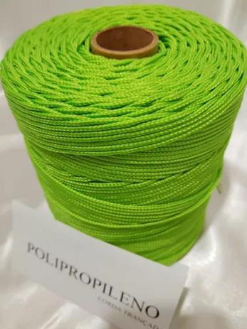 Imagem de Corda Trançada Verde Pistache de 3,0mm