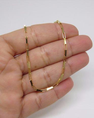 721b5d59a11c4 Corrente Cordão Masculino Ouro 70cm 7.5 Gr Cadeado - Dr joias - Joia ...