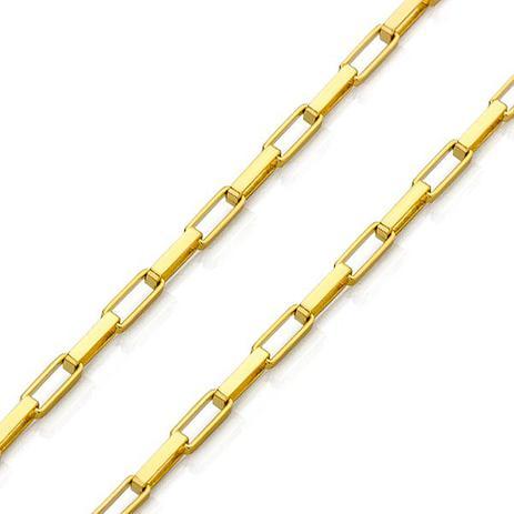 c1dd2fb4726 Corrente de Ouro 18K Cartier Quadrada 1