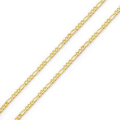 53f44e725ab3d Corrente de Ouro 18k Groumet 3 em 1 de 4,0mm com 60cm co02395 - Joiasgold