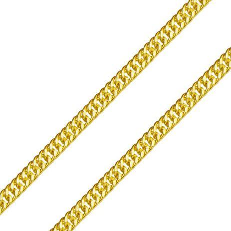 10ba6e2f4d1d7 Corrente em Ouro 18k Groumet Losango Dupla 0