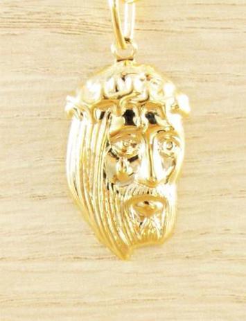 40413785ed89b Corrente Masculina Grumet 70cm 2mm e Pingente Face De Jesus Tudo Folheado á  Ouro. Cod  1819 1923 - Gabriela costa semi jóias