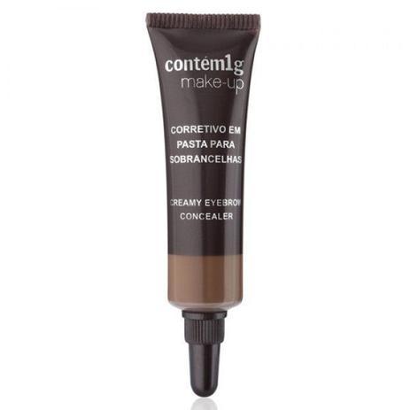 Imagem de Corretivo em pasta para sobrancelhas  contém 1g make up médio