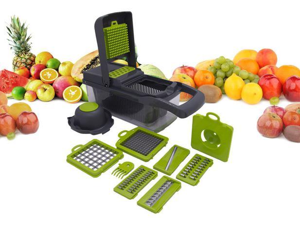 Imagem de Cortador Multi Fatiador De Alimentos Modelo IKAZA