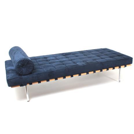 Imagem de Couch Barcelona Suede SD29 Azul Marinho