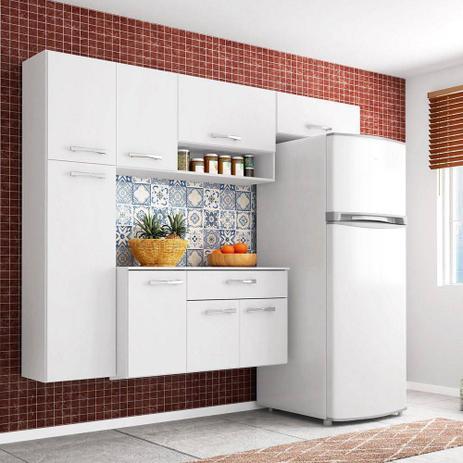 Imagem de Cozinha Compacta  Completa 4 peças Poquema Anita Branca