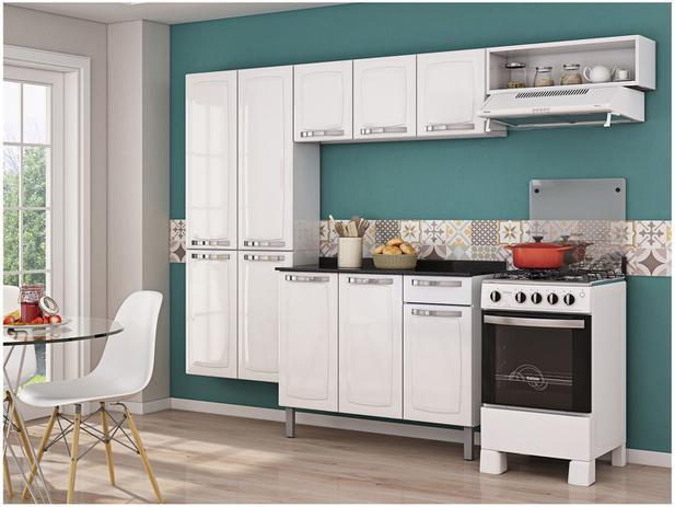 Imagem de Cozinha Compacta Itatiaia Rose 7 Portas Aço e