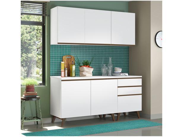 Cozinha Compacta Madesa Reims - 5 Portas 3 Gavetas