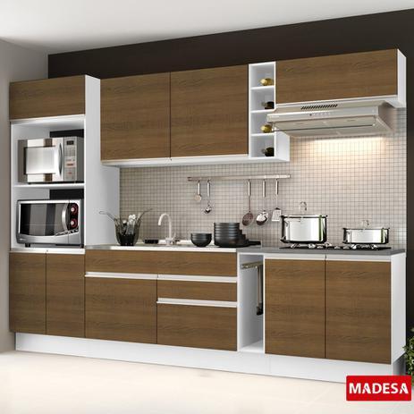 Imagem de Cozinha Completa Planejada Glamy Vicenza Madesa