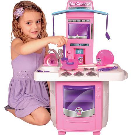Imagem de Cozinha Infantil Completa com Acessórios Big Star 630