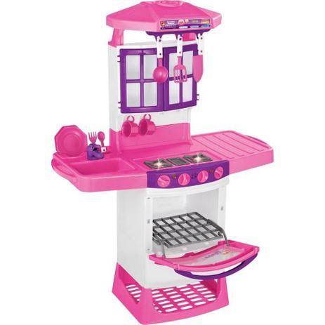 Imagem de Cozinha infantil de brinquedo magica eletronica magic toys unica