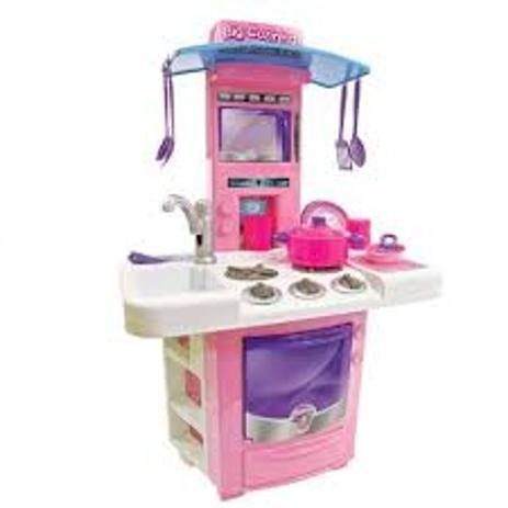 Imagem de Cozinha infantil - fogão- pia - microondas - brinquedo - big star