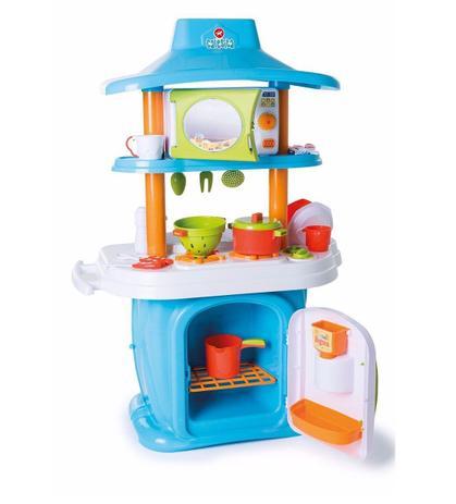 708a419359 Cozinha Infantil Le Grand Chef JR Azul e Branco - Calesita - Cozinha ...