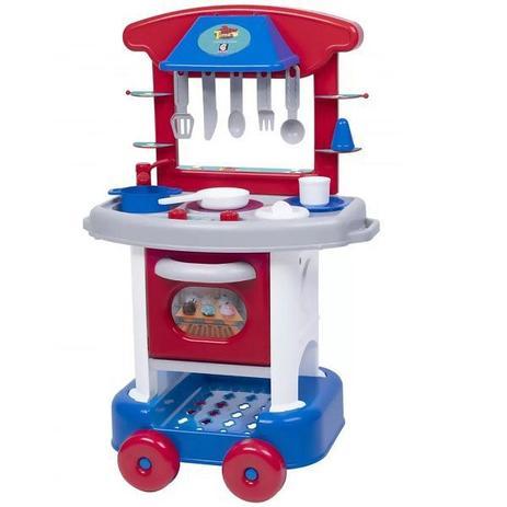 Imagem de Cozinha Infantil PLAY Time com Acessorios Menino Cotiplas 2421