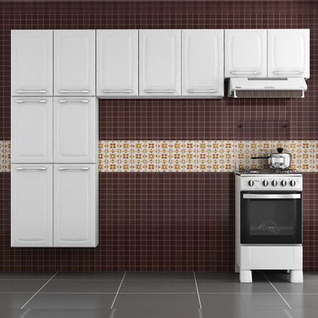 1fc29d77cb Cozinha Itatiaia Criativa Compacta 3 Pecas Branco Paneleiro