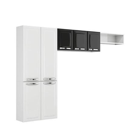 Imagem de Cozinha Itatiaia Rose Compacta 3 Pecas Branco/Preto