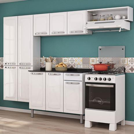 Imagem de Cozinha Itatiaia Rose Compacta 4 Pecas Branco