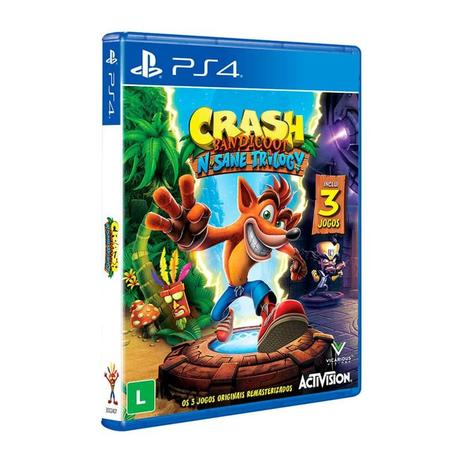 Imagem de Crash Bandicoot N Sane Trilogy - PS4