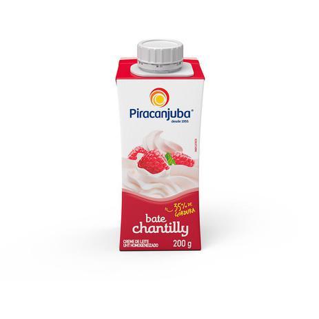 Imagem de Creme De Leite Chantilly Piracanjuba 35% De Gordura 200g