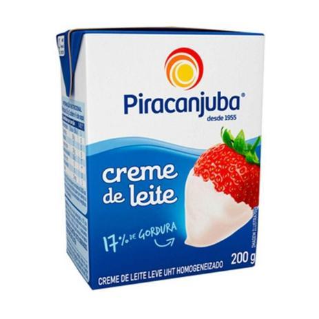 Imagem de Creme De Leite Piracanjuba Tetra Pack 200g - Embalagem c/ 27 unidades