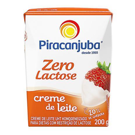 Imagem de Creme de Leite Piracanjuba Zero Lactose 200g