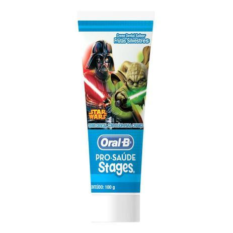 Imagem de Creme Dental Infantil Oral-B Stages Star Wars 75mL