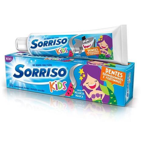 Imagem de Creme Dental Sorriso Kids 50g