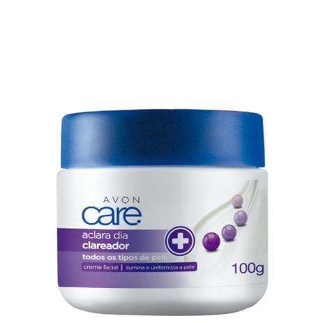 Creme Facial Aclara Dia 100g Avon Care Cuidados Faciais