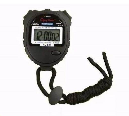 8c513f44d67 Cronômetro de Mão Digital Corrida À Prova Dágua XL-021 - Gold