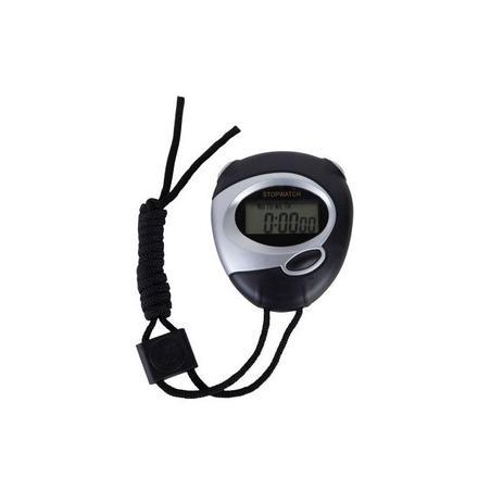 5ebb707a865 Cronômetro digital com relógio para esporte e produção com alarme sonoro  herweg preto