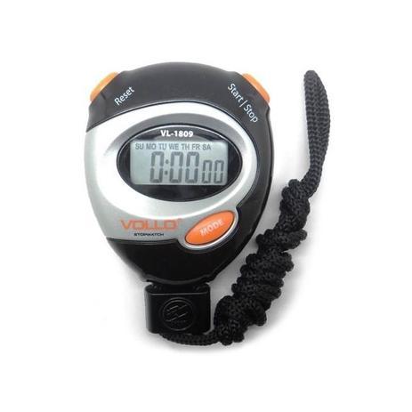 80e78277b57 Cronômetro Digital Profissional Vollo Vl-1809 Com Alarme - Vollo sports