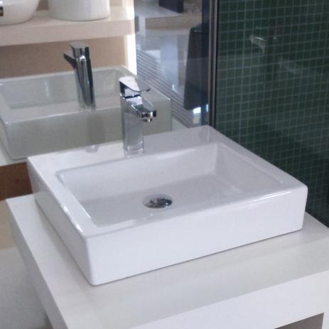 Cuba De Apoio Para Banheiro Jacuzzi Breeze 48cmx48cmx10cm Branco - Fotos-de-jacuzzi