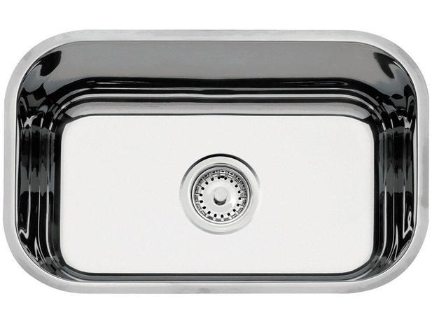 Imagem de Cuba Simples de Embutir para Cozinha Tramontina - Inox Retangular 50x33,5cm Standard Lavínia