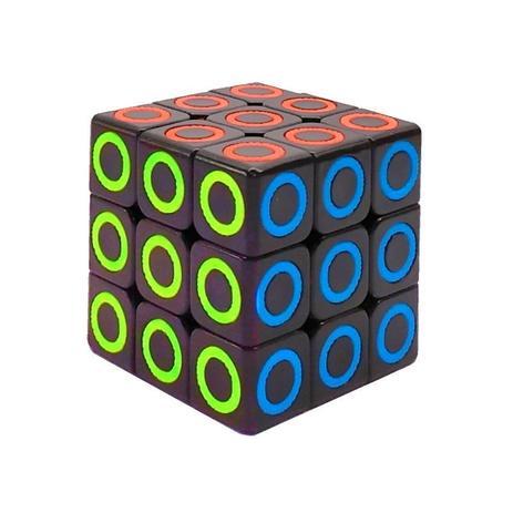 Imagem de Cubo Mágico Tradicional Interativo Semi Profissional 3x3x3
