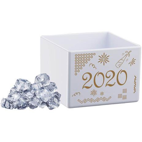 Imagem de Cubo para Gelo Branco Poliestireno