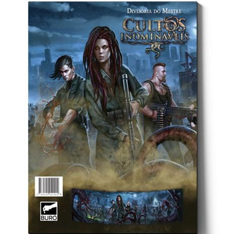 Imagem de Cultos Inomináveis -  Divisória do Mestre - RPG - Buró