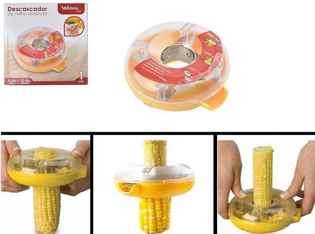 Imagem de Debulhador Ralador Manual e Circular com Reservatório para Espigas de Milho