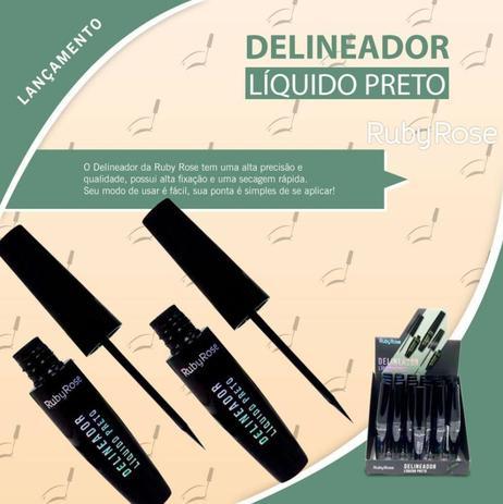 Imagem de Delineador Liquido Preto