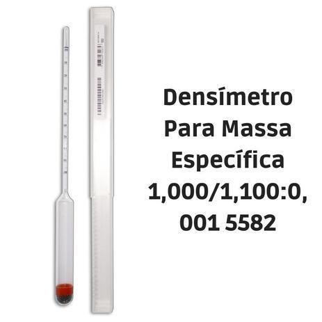 Imagem de Densímetro Para Massa Específica 1,000/1,100:0,001 5582