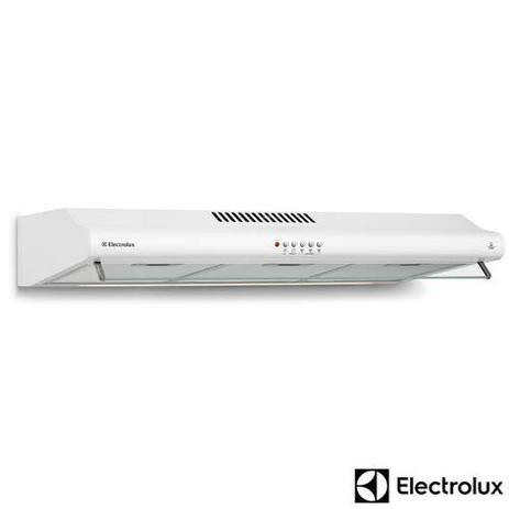 Imagem de Depurador de Ar de 80 cm Electrolux com 03 velocidades, Exaustor e Filtro Metalico Branco - DE80B