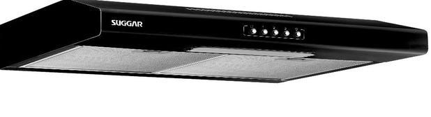 Imagem de Depurador de Ar Suggar Slim 60 cm Preto 110V DI61PT
