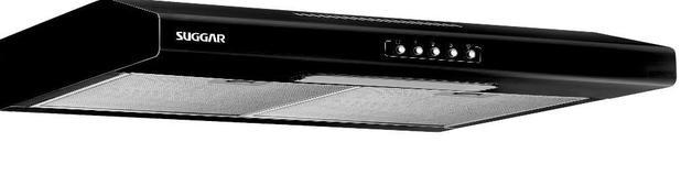Imagem de Depurador de Ar Suggar Slim 80 cm Preto 110V DI81PT