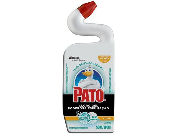 Imagem de Desinfetante Pato Cloro Gel Citrus