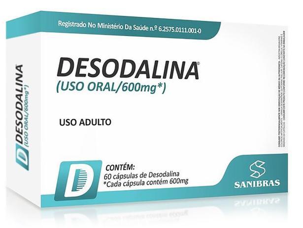 Imagem de Desodalina 600mg 60 cápsulas